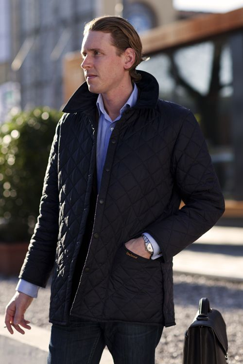 Sized down Barbour Liddesdale - I could use a nice quilted jacket.