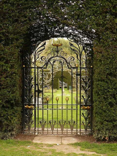 78 Images About Beautiful Gates On Pinterest Iron