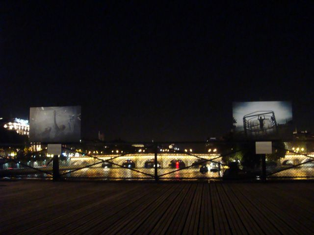 PONT DES ARTS; LOCAL HANGOUT FOR MANY