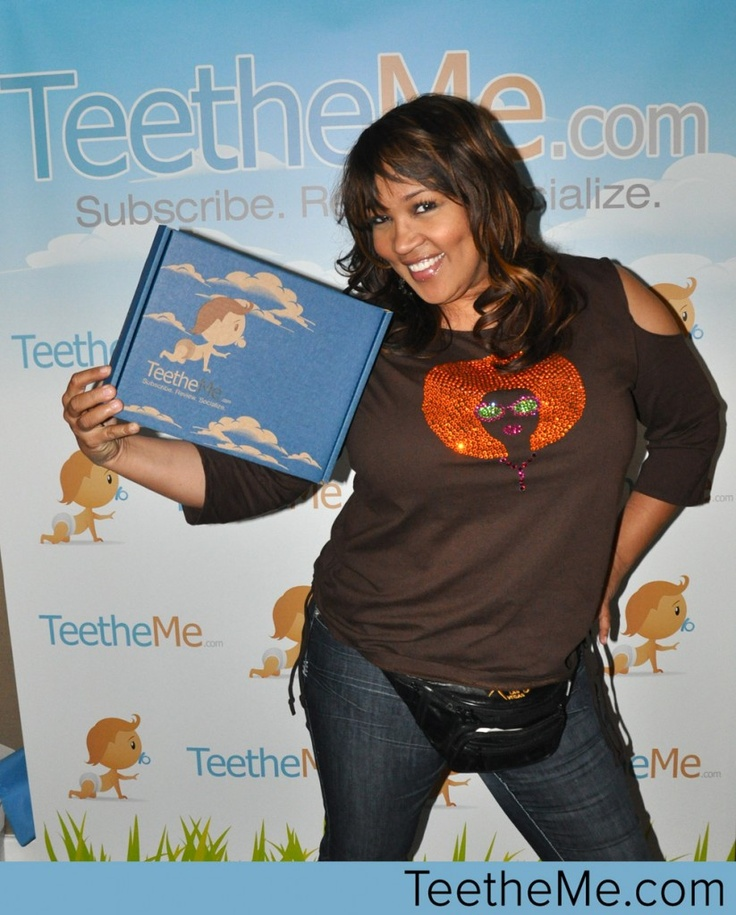 Kym Whitley from I love You Man and Along Came Polly with TeetheMe.com at the Oscars Boom Boom Room @teetheme #celebs