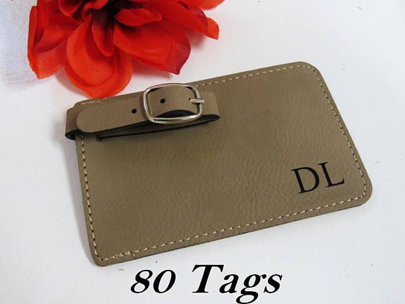 80 Personalized Leather Luggage Tags Custom Luggage Tag