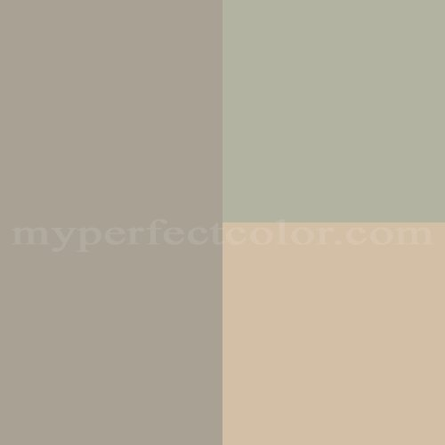Bm rockport gray shaker beige sage paint colors for Grey beige paint color