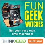New ThinkGeek Watches  http://www.planetgoldilocks.com/holiday_shopping.htm #holiday #holidayshopping  New ThinkGeek Watches #watches