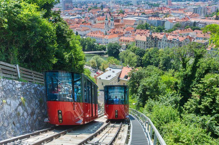 Schlossbergbahn   © Graz Tourismus   Harry Schiffer