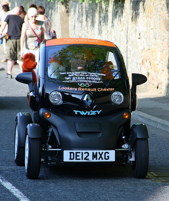 Renault Twizy electric vehicle