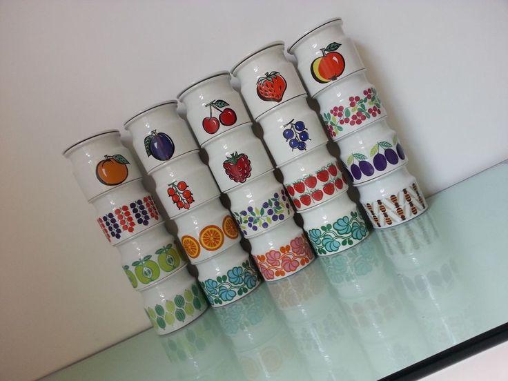Arabia Finland, honey Jar, Pomona,jelly ,jam