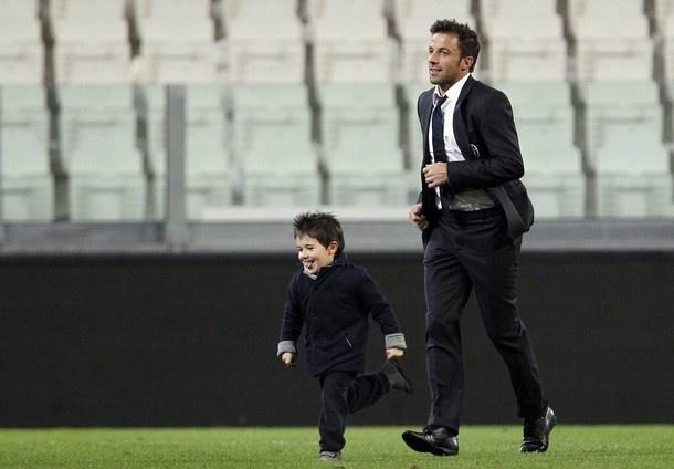 Alessandro y Tobias Del Piero