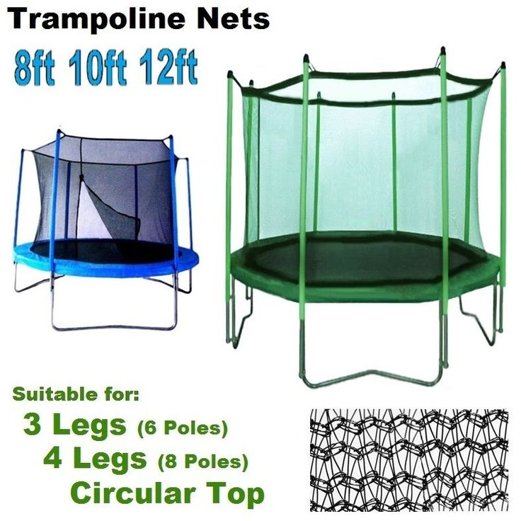 Top trampoline enclosure replacement upper nets safety #bounce #universal #surrou,  View more on the LINK: http://www.zeppy.io/product/gb/2/172321851727/