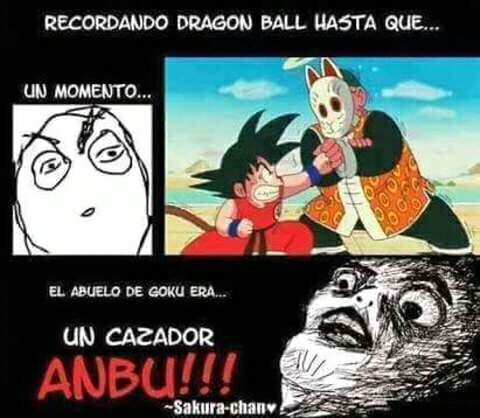 Memes De Anime Y Cosas Frikis - Goku!! - Wattpad