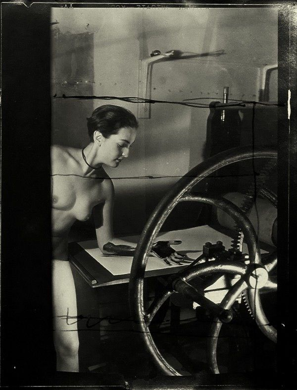 Man Ray, Meret Oppenheim - now THAT'S how to hang out in the studio!