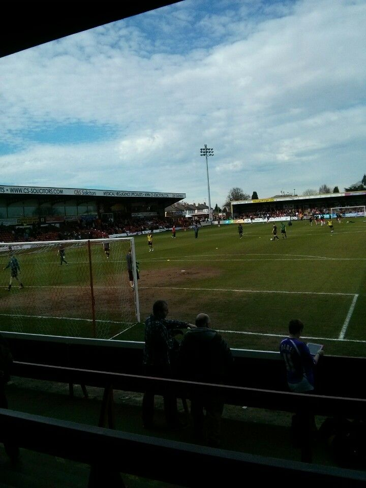 Aggborough Stadium (Kidderminster Harriers FC)