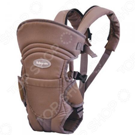 Baby Care HS-3184-C  — 1750р. ---------------------------------- Рюкзак-кенгуру Baby Care HS-3184-C предназначен для ношения детей в возрасте от 1 месяца до 2,5 лет. Практичный и легкий рюкзак обеспечивает корректную поддержку ребенка благодаря эргономичной форме. Модель рассчитана на детей весом до 15 кг. Благодаря удобной конструкции, малыша можно располагать лицом к носящему и спиной к носящему. Кенгуру оснащен высокой жесткой спинкой и регулируемыми по всей длине ремнями. Рюкзак-кенгуру…