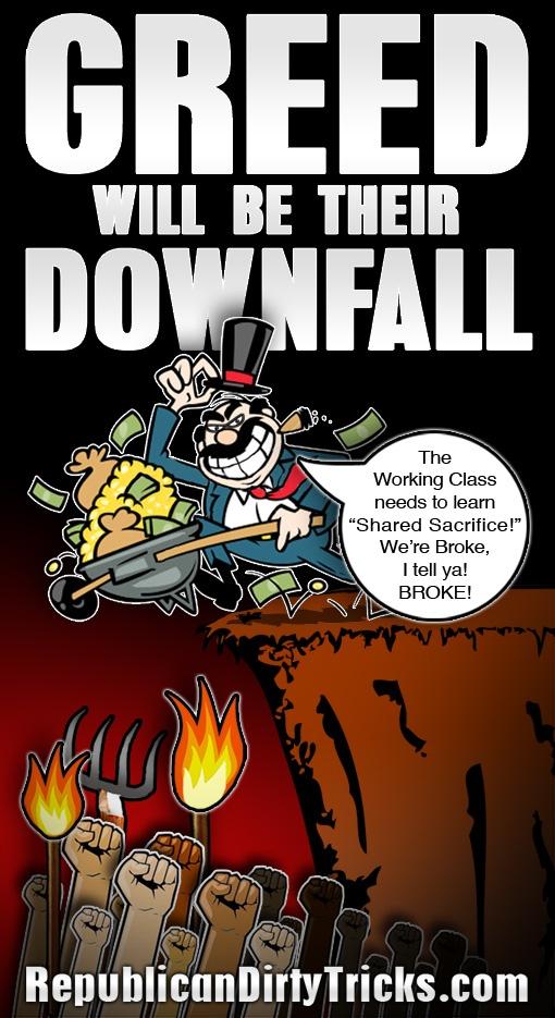Political Greed! = Downfall...