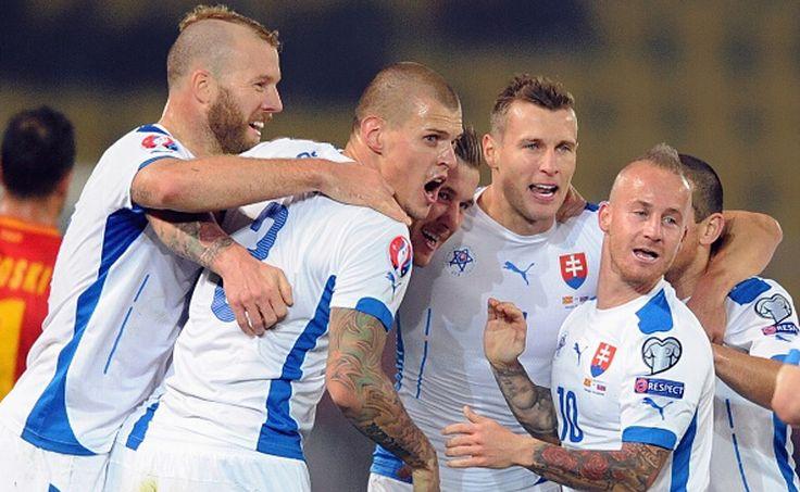 La Selección de fútbol de Eslovaquia Eurocopa de Francia 2016