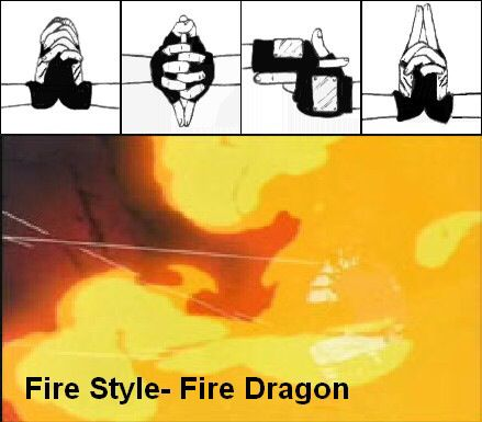 Fire Style: Fire Dragon Jutsu
