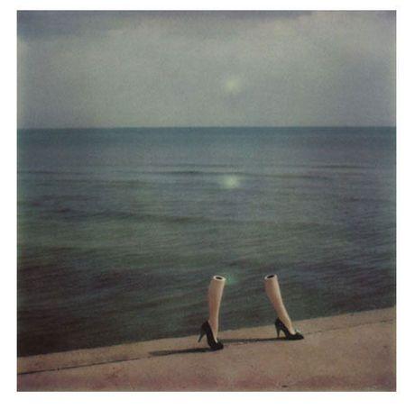 Bourdin, een van de meest invloedrijke en bekendste modefotografen van de jaren zeventig en de vroege jaren tachtig.