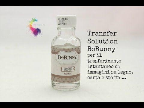 Transfer Solution BoBunny-Liquido per trasferimento immagini ISTANTANEO | l'arte vista da me