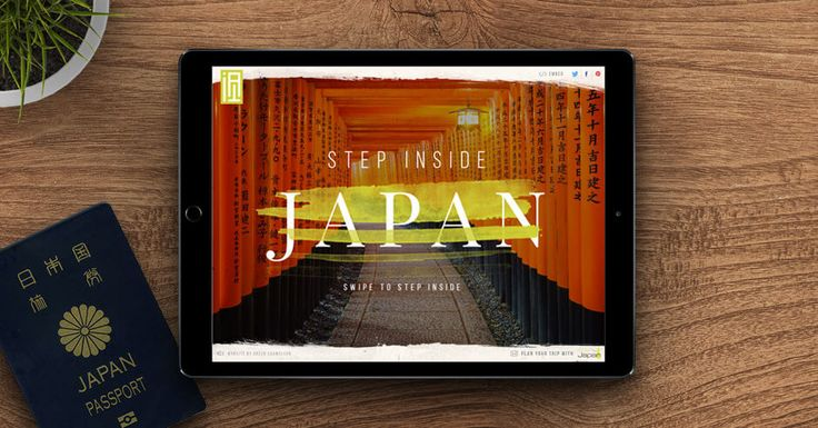 Discover the most beautiful spots in Japan with innovative interactive map and 360 photo view