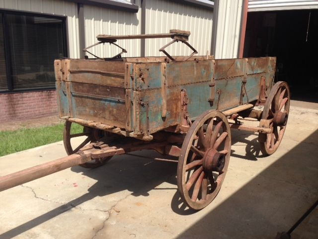 Antique Studebaker Horse Drawn Farm Wagon Great Antique