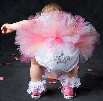 Adorable!! Now there is one major princess! If you have any doubts, just check out her diaper cover :-)