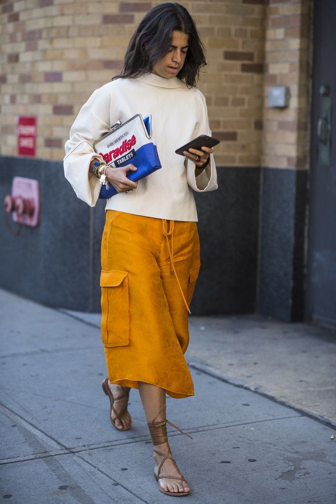 Updated! The Best Street Style From New York Fashion Week: The style set descended on NYC for its biannual Fashion Week pilgrimage.
