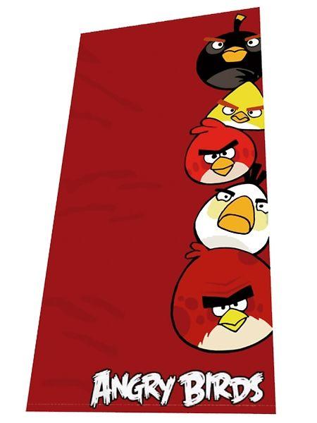 Pehmeä ja muhkea Angry Birds -pyyhe kuivaa hetkessä niin pienen kuin isommankin vesipedon. Punaiselle pohjalle painetut tutut lintuhahmot takaavat hauskan kylpy- tai suihkuhetken! Sataprosenttista puuvillaa. Koko 70 x 140 cm. Pesu 60 asteessa.  Hinta vain 5,90€!