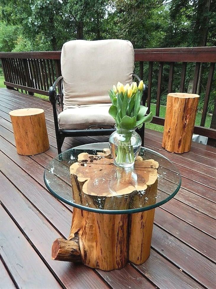 Creative diy coffee tables diy outdoor wood projects