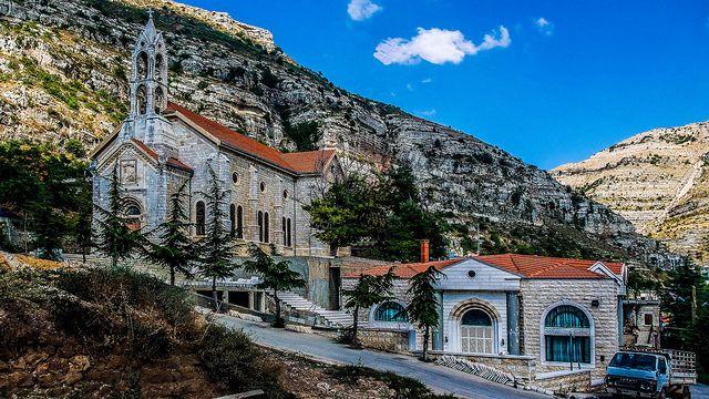 Akoura Church, Lebanon