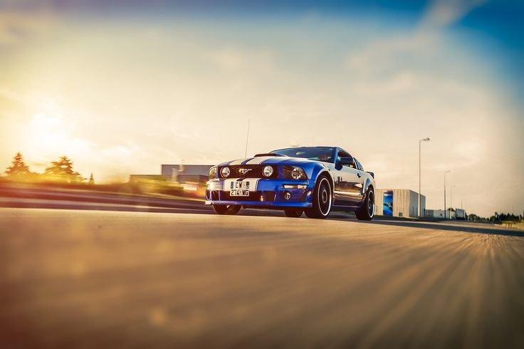 Muscle Car - a rolling shot of muscle car mustang , hope you like dear friend.