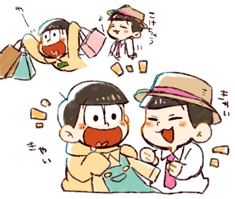 おそ松さん Osomatsu-san 十四松&トド松「放送直前おそ松さんまとめ」/「くり」の漫画 [pixiv]