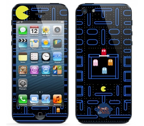 Pacman will never die ! Lovely skin for iphone5 by EdSkull