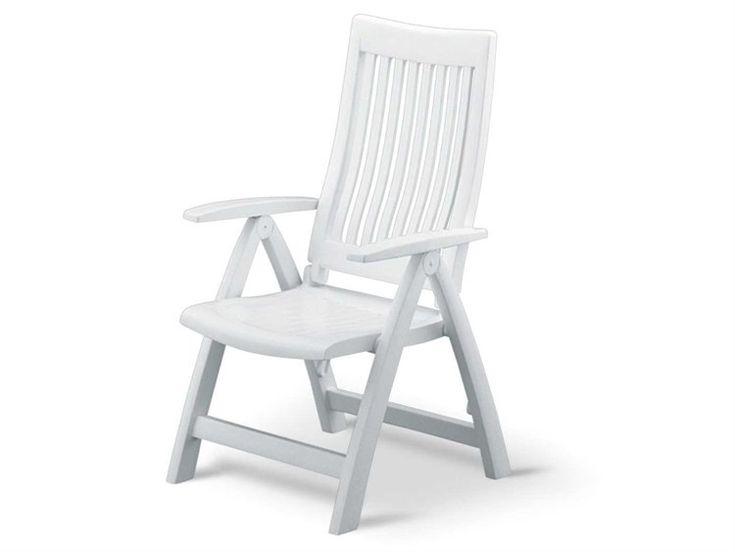 Kettler roma resin white multiposition lounge chair