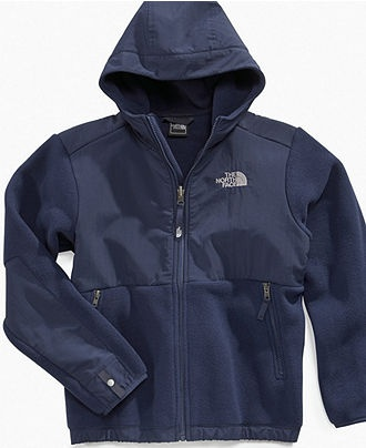 The North Face Kids Jacket, Boys Hooded Denali Fleece Jackets - Kids Boys 2-7 - Macy's