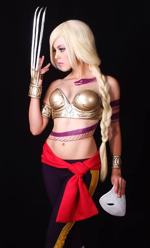 Lady Vega, Street Fighter, by Nadyasonika. #Rule63