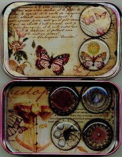 Altered tin box