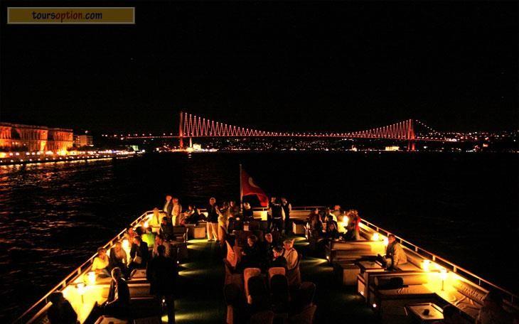 Istanbul Bosphorus Boat Tour ,Bosphorus by Night - Bosphorus Dinner Cruise