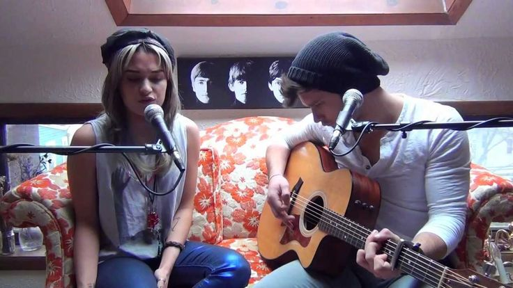 """Christina Aguilera and Blake Shelton """"Just A Fool"""" cover by Mike Squilla..."""