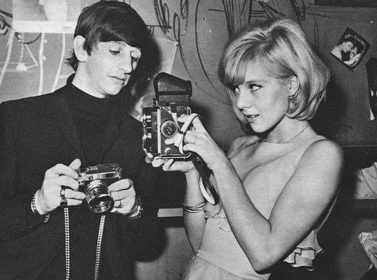 Sylvie Vartan and Ringo Starr