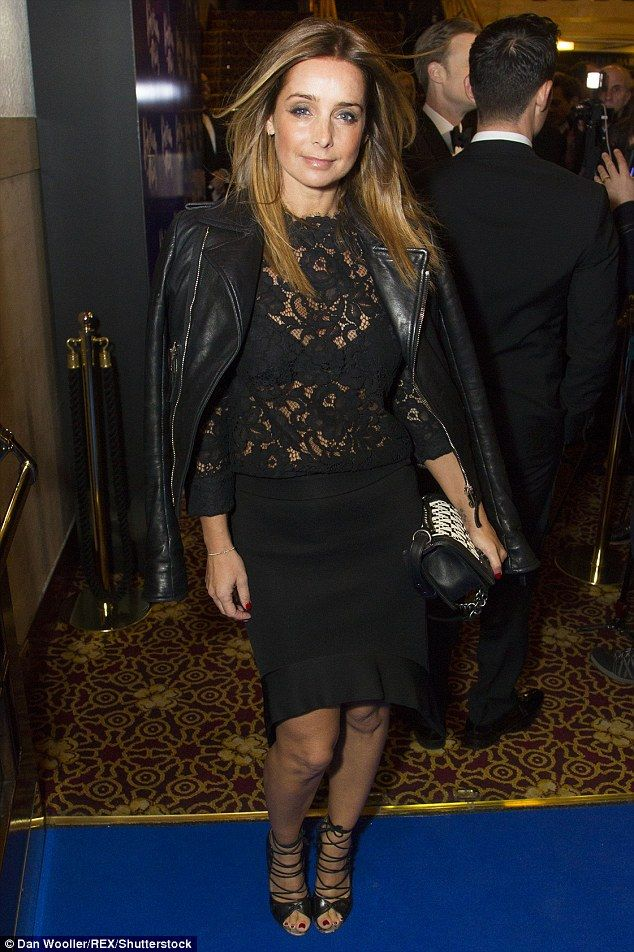 Sartorial elegance: The former Strictly star looked sensational in her semi-sheer getup - ...