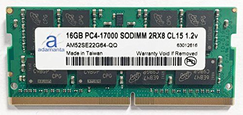 Adamanta 16GB 1x16GB Laptop Memory Upgrade for Acer Predator 17 G9792707R DDR4 2133 PC417000 SODIMM 2Rx8 CL15 12v Notebook RAM *** Want additional info? Click on the image.
