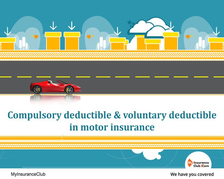What Is Compulsory Deductible In Car Insurance