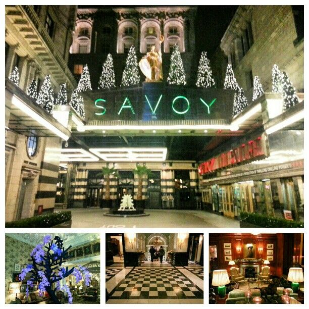 The Savoy Hotel in London, Greater London