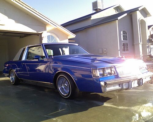 84 Buick Regal Limited | LOWRIDERS | Pinterest | Buick ...