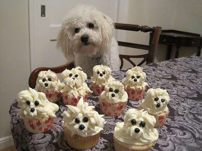 Puppy Cupcakes...