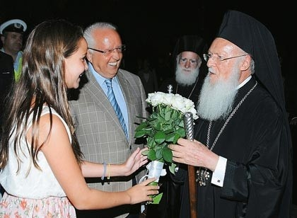 His All Holiness, the Ecumenical Patriarch of Constantinople, the spiritual leader of 300 million Orthodox around the World, visits #Grecotel Creta Palace