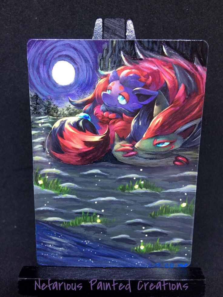 Cool pokemon cards card art paint cards