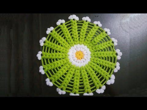 Çiçek Modelli Lif Örneği - YouTube