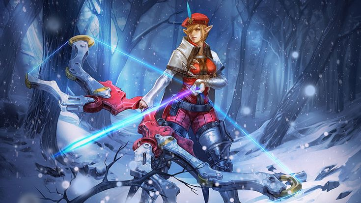 Kestrel Vainglory HERO SNEAK PEEK: STORMGUARD ARCHER KESTREL (Kestrel has now been released and is amazing)