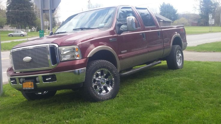 2006 Ford F250 with Helo Maxx 8 Wheels