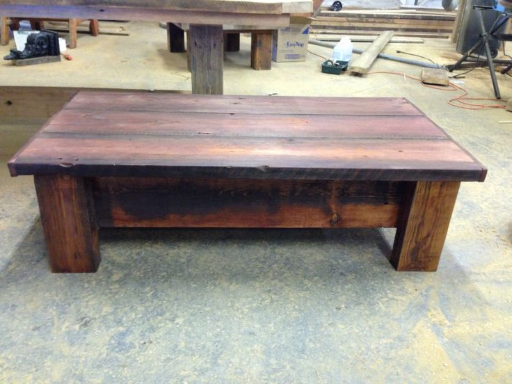 14 Best Images About Reclaimed Wood Coffee Tables On Pinterest Repurposed Coffe Table And